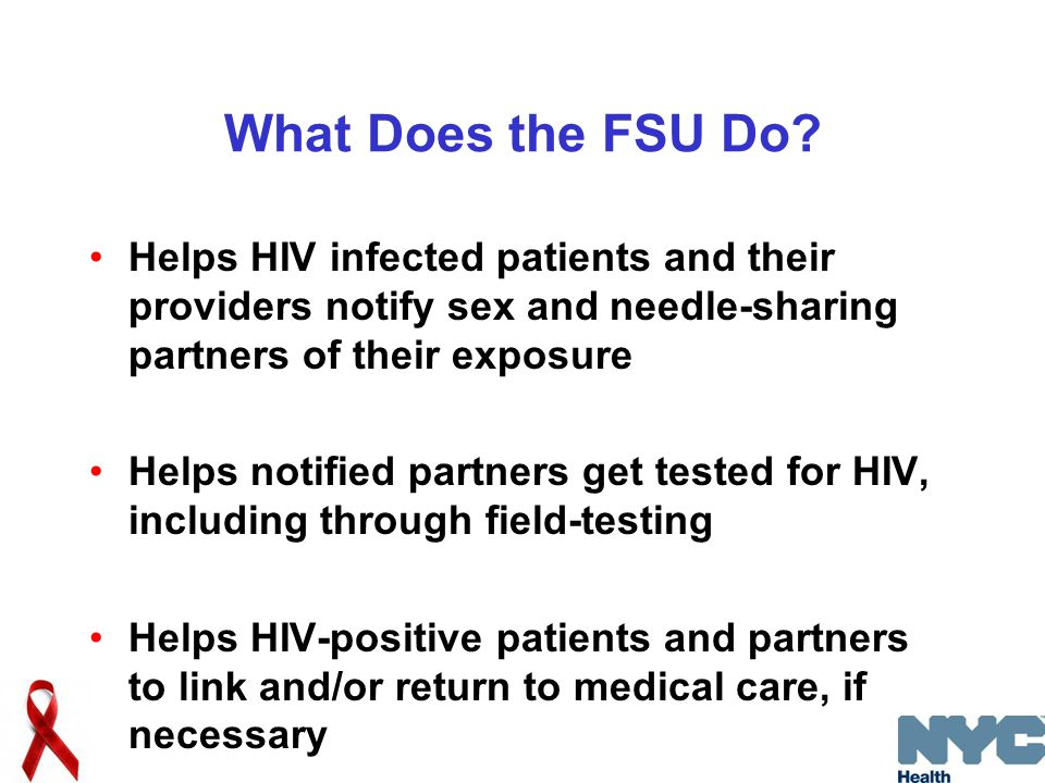 What Does the FSU Do.