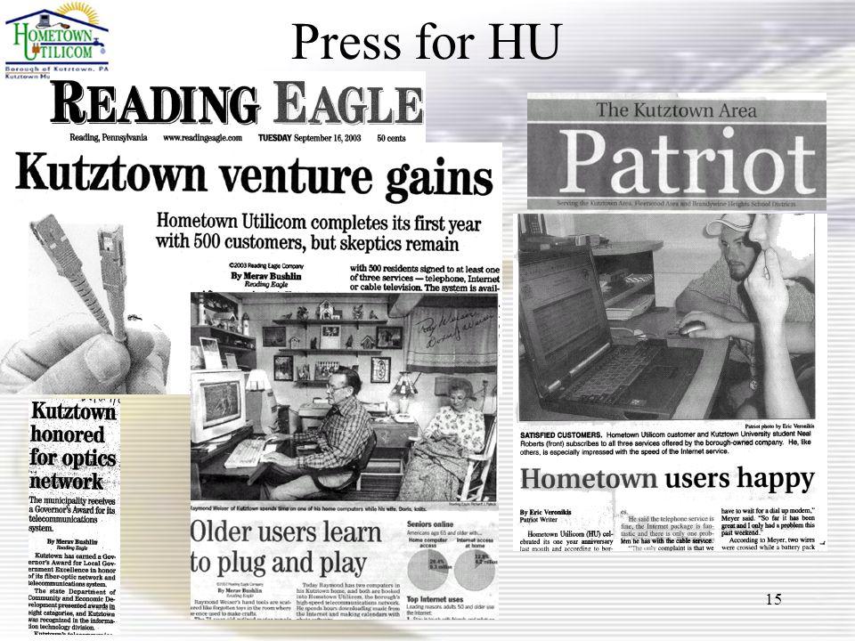 15 Press for HU
