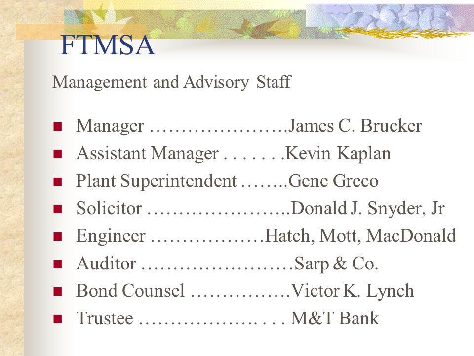FTMSA Manager ………………….James C.