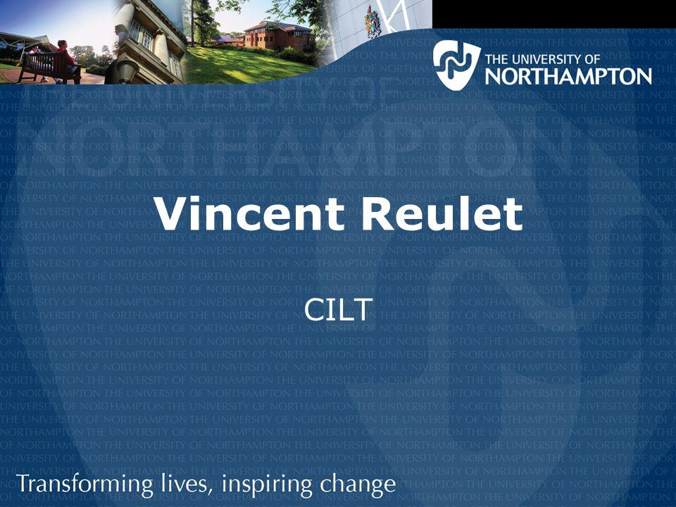 Vincent Reulet CILT