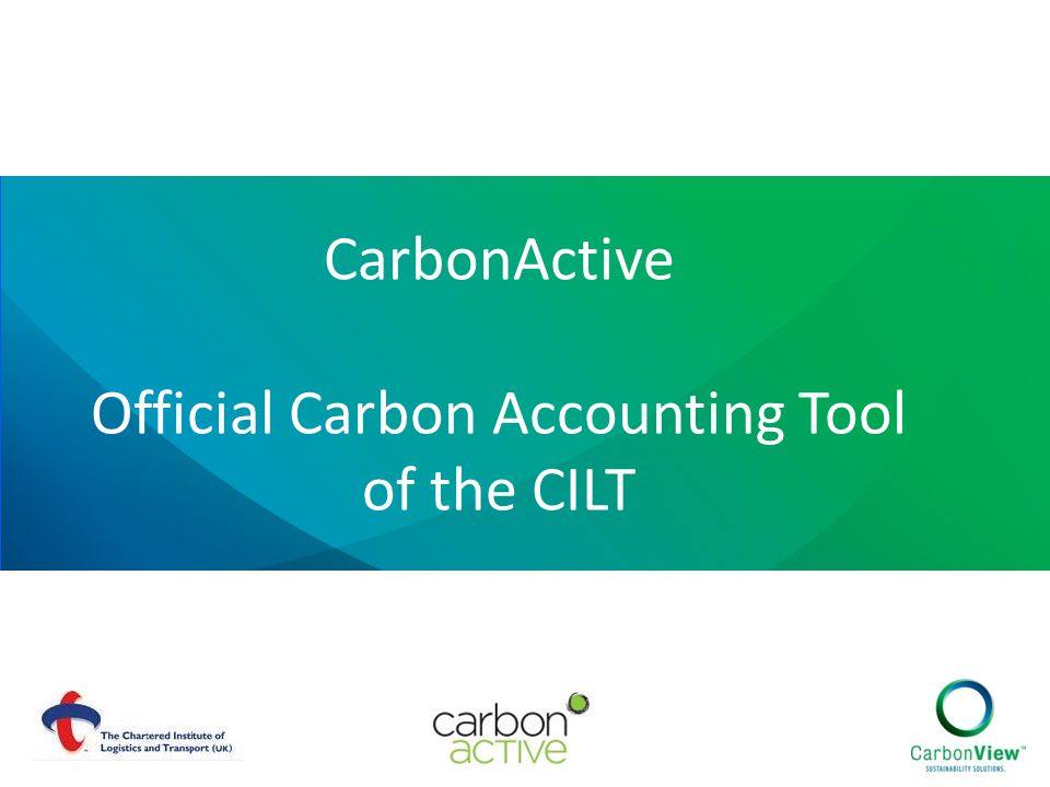 CarbonActive Official Carbon Accounting Tool of the CILT