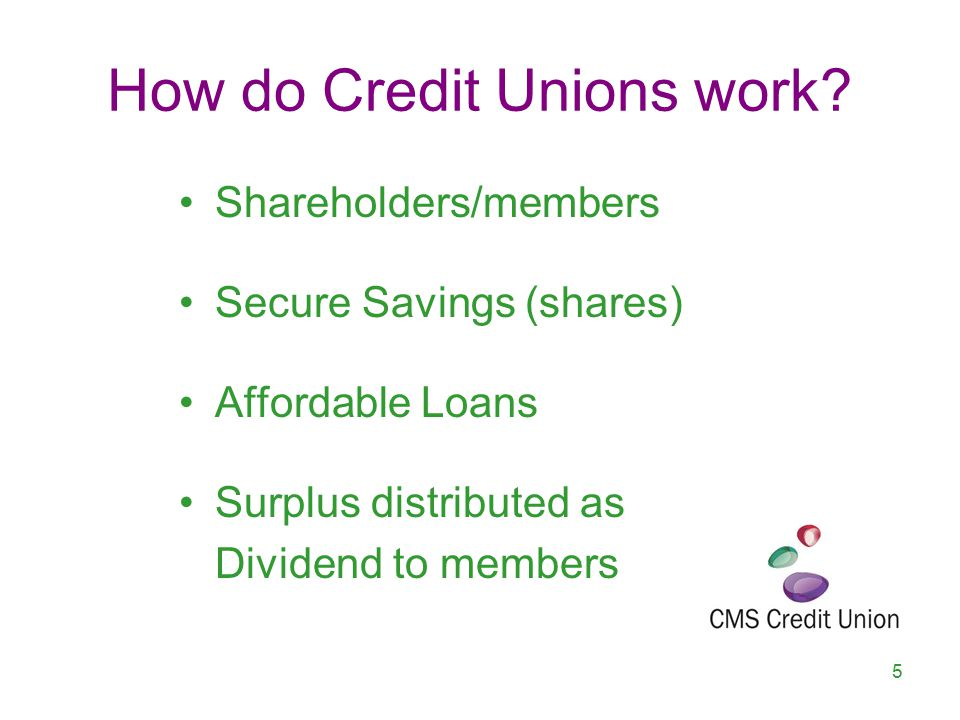 How are Credit Unions run.