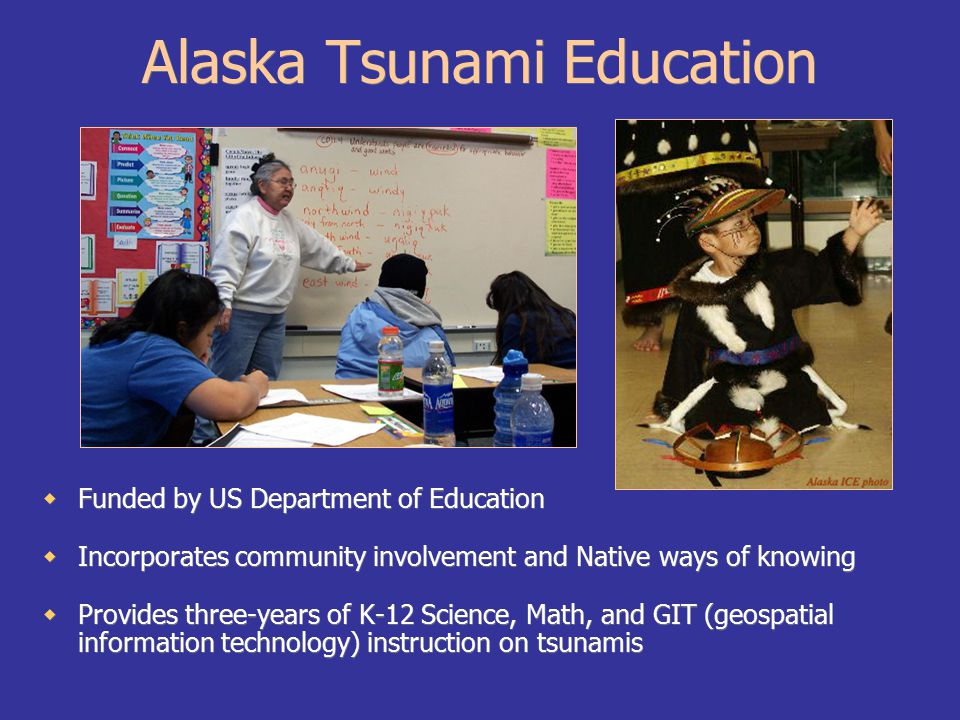 Professional Expertise Alaskan scientists and government officials contribute to ATEP by providing expertise and data.