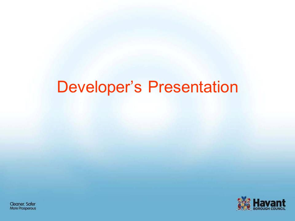 Developer's Presentation