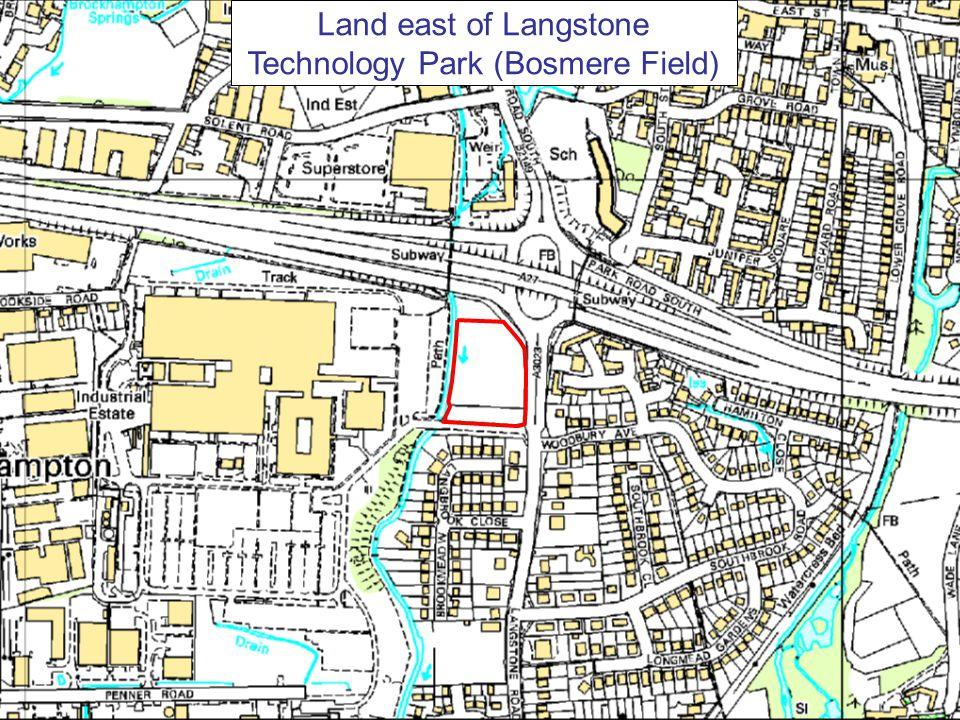 Land east of Langstone Technology Park (Bosmere Field)