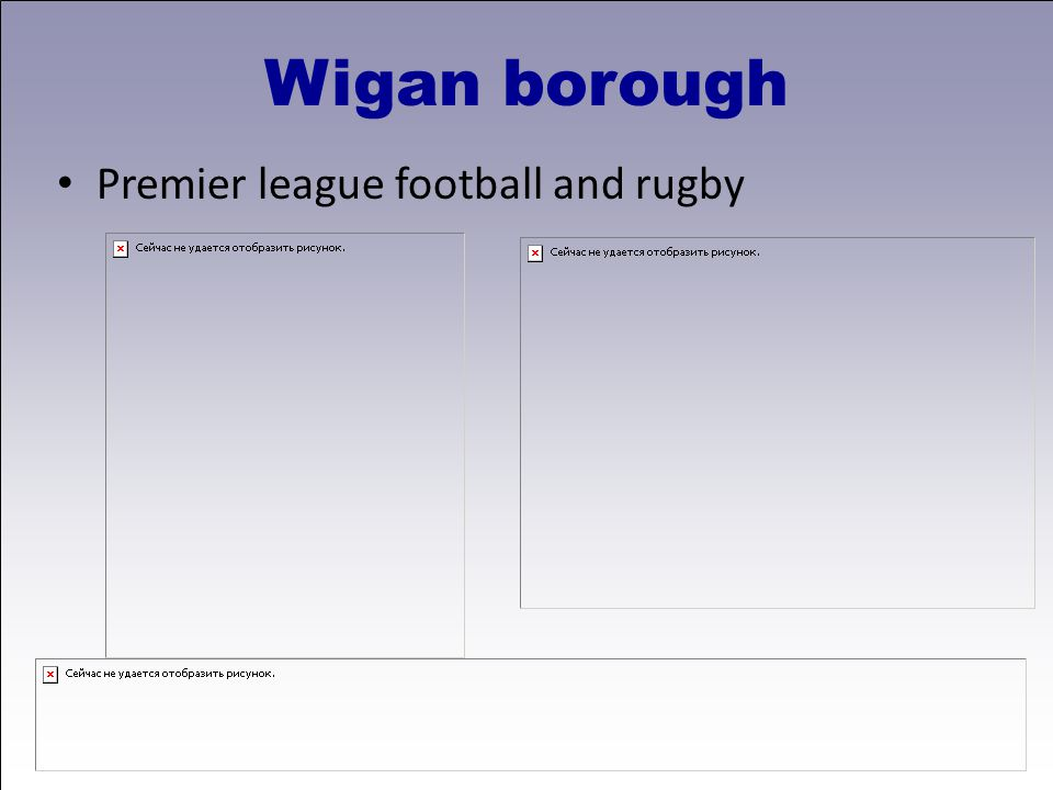 Premier league football and rugby