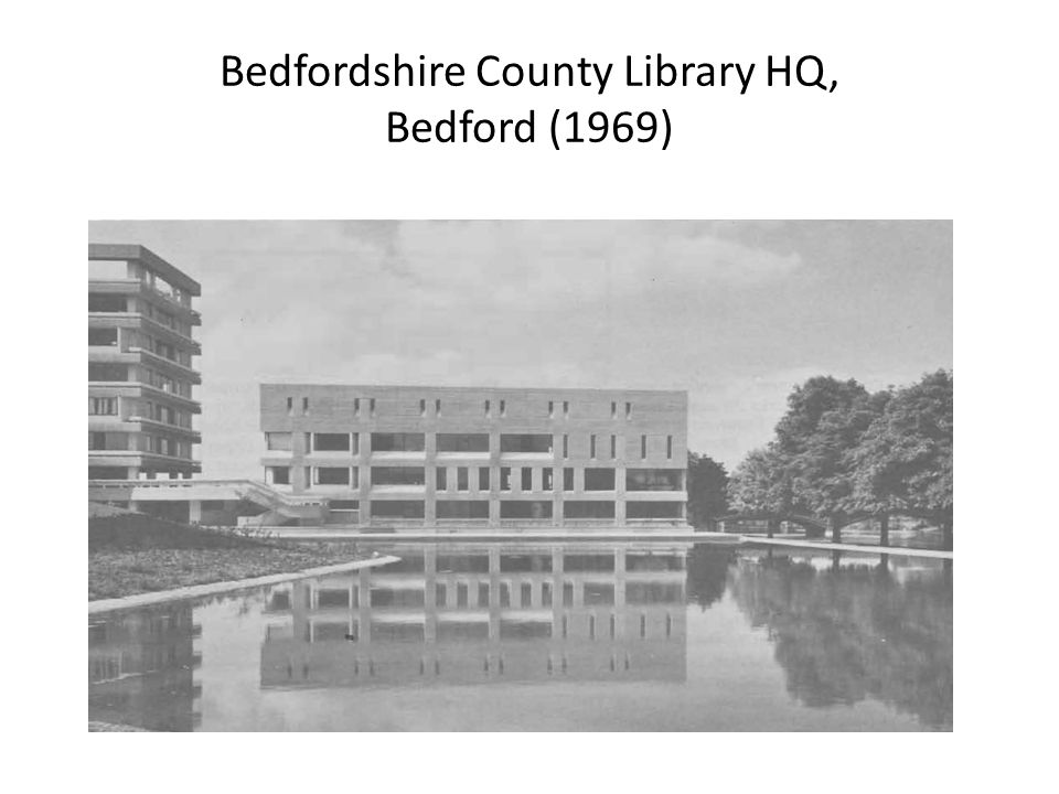 Bedfordshire County Library HQ, Bedford (1969)