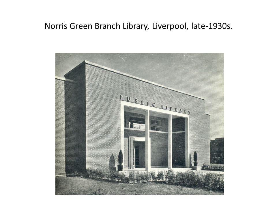 Manor Branch Library, Sheffield (1953)
