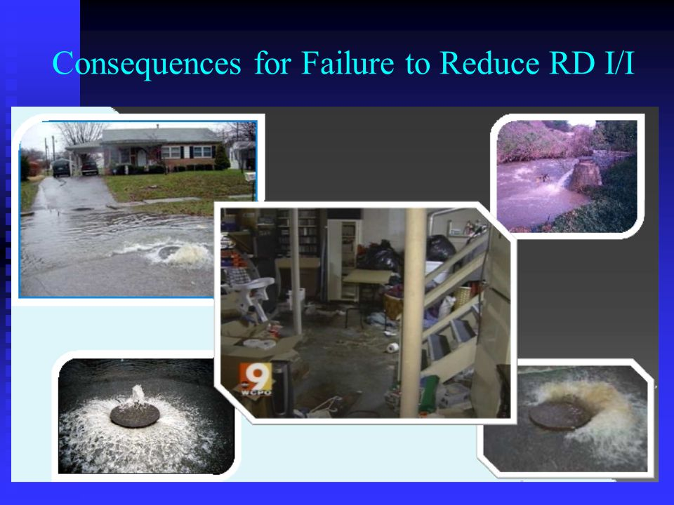 Consequences for Failure to Reduce RD I/I