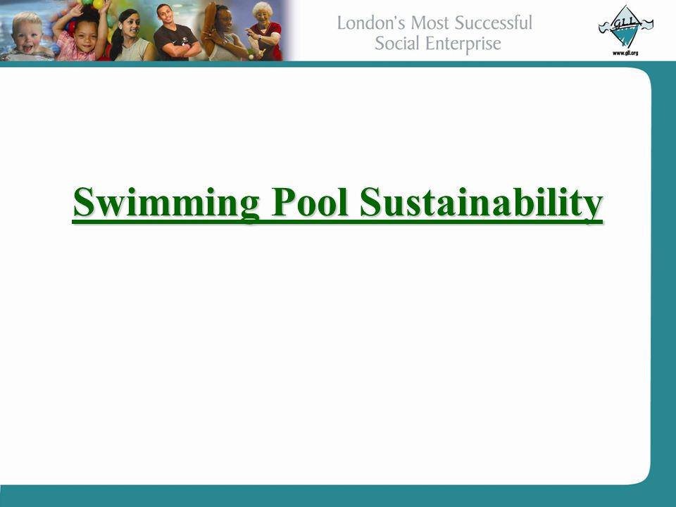 Swimming Pool Sustainability