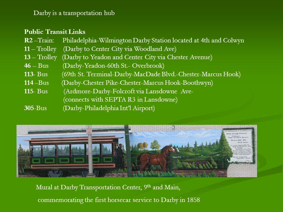 For further information visit www.darbyhistory.com