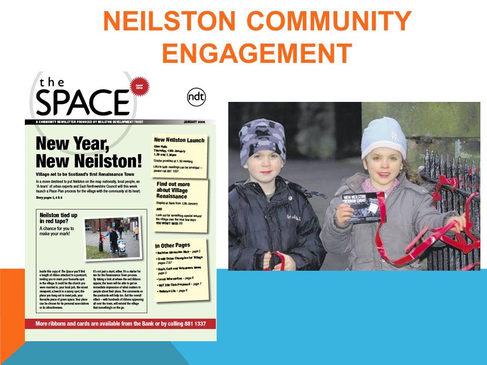NEILSTON COMMUNITY ENGAGEMENT