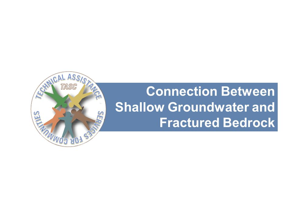14 Connection Between Shallow Groundwater and Fractured Bedrock
