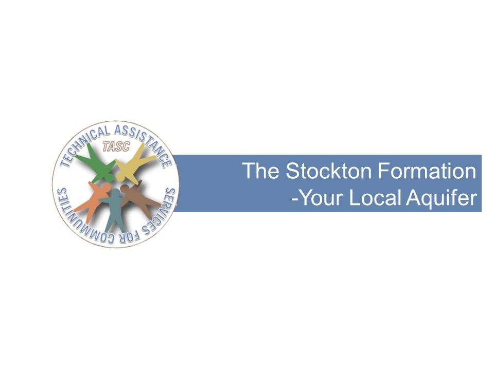 The Stockton Formation -Your Local Aquifer 17
