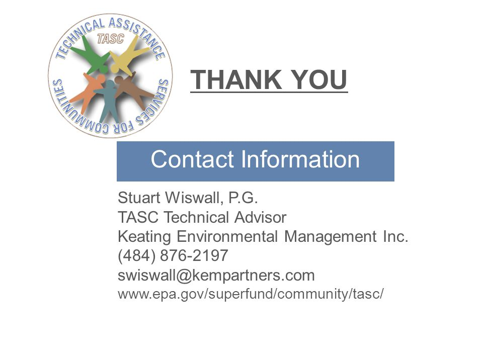 Contact Information Stuart Wiswall, P.G.