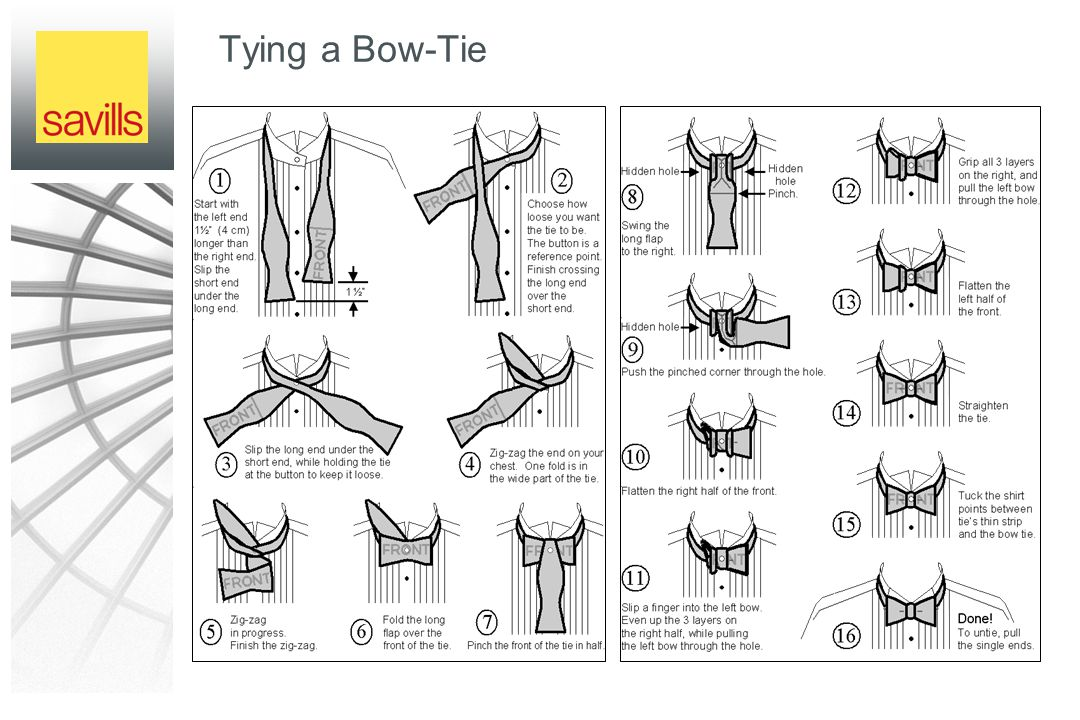 Tying a Bow-Tie