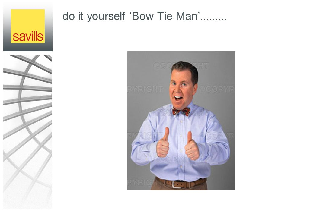 do it yourself 'Bow Tie Man'.........