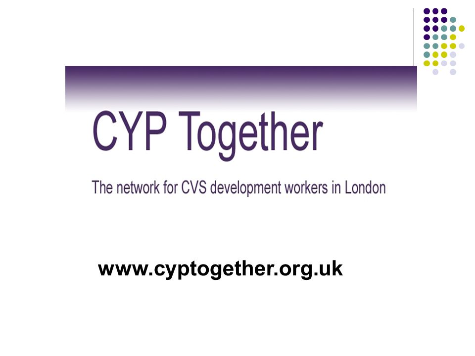 VCS Strategic Representation on London Children's Trusts