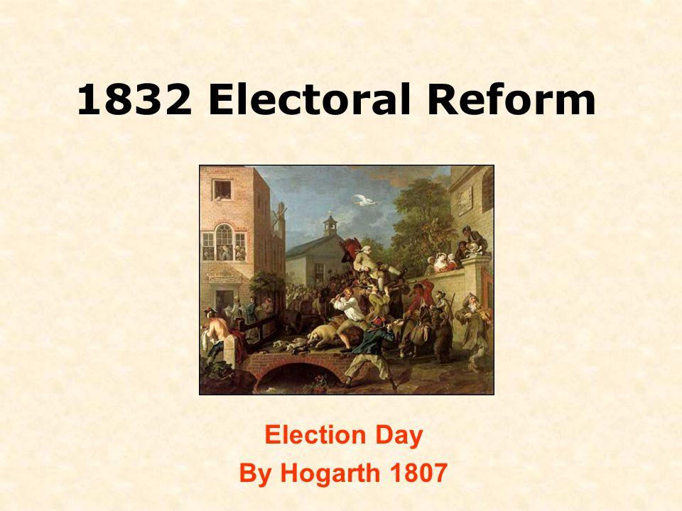 1832 Electoral Reform Election Day By Hogarth 1807