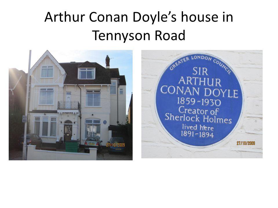 Arthur Conan Doyle's house in Tennyson Road