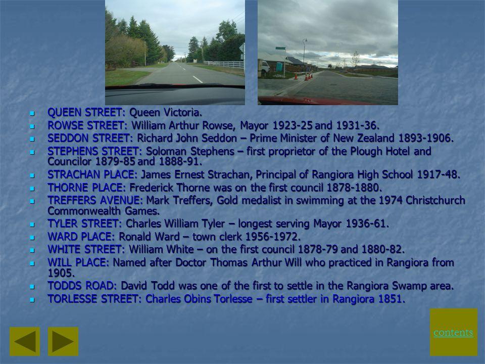LINDON STREET: John Lindon – Councilor 1923-27. LINDON STREET: John Lindon – Councilor 1923-27. LUDLOW LANE: Ludlow Racecourse in Hereford England. LU