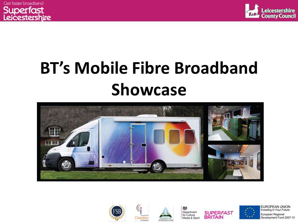 BT's Mobile Fibre Broadband Showcase
