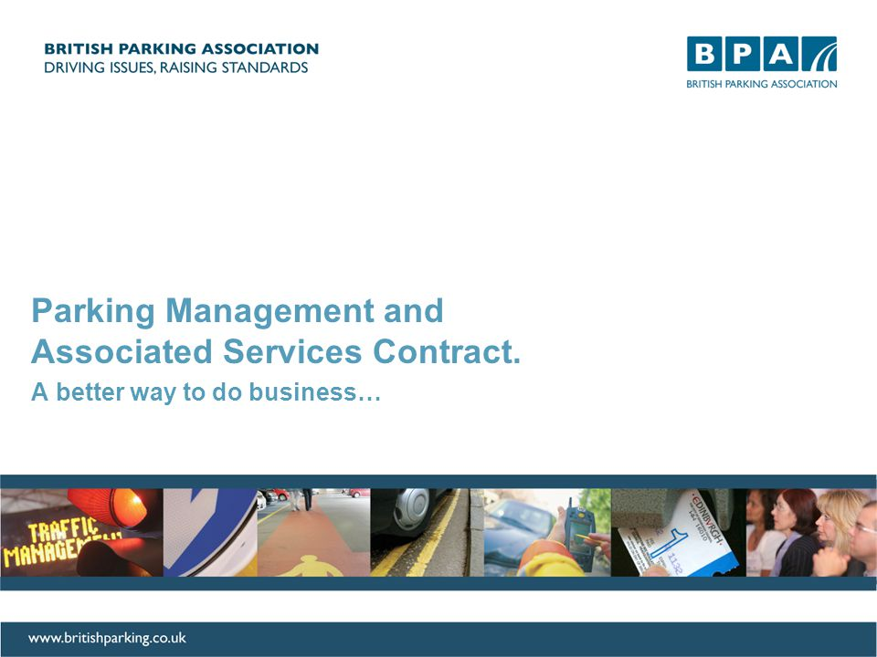 Project RECiPE: Communication Plan Parking Management and Associated Services Contract.