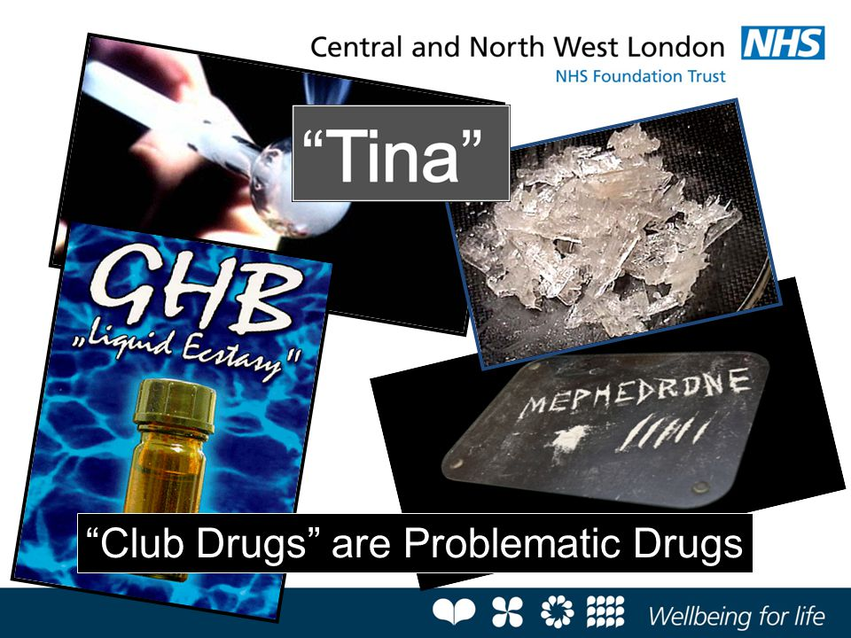 """Club Drugs"" are Problematic Drugs"
