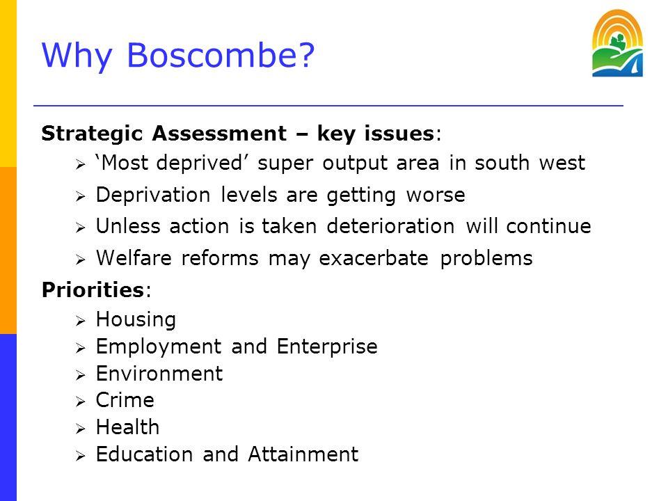 Why Boscombe.