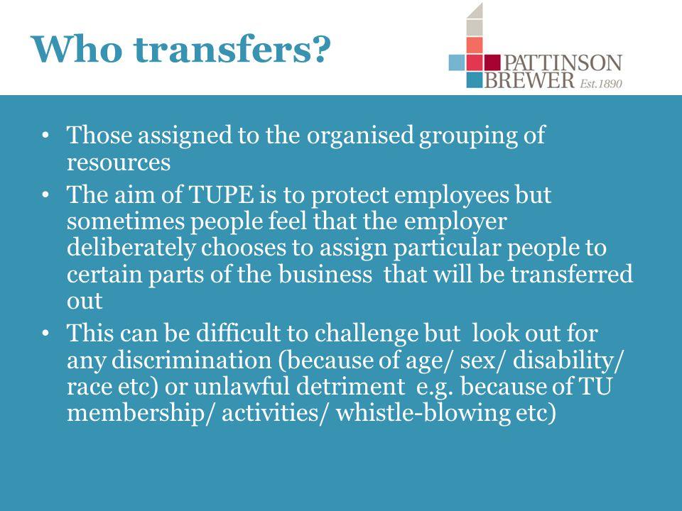 Who transfers.