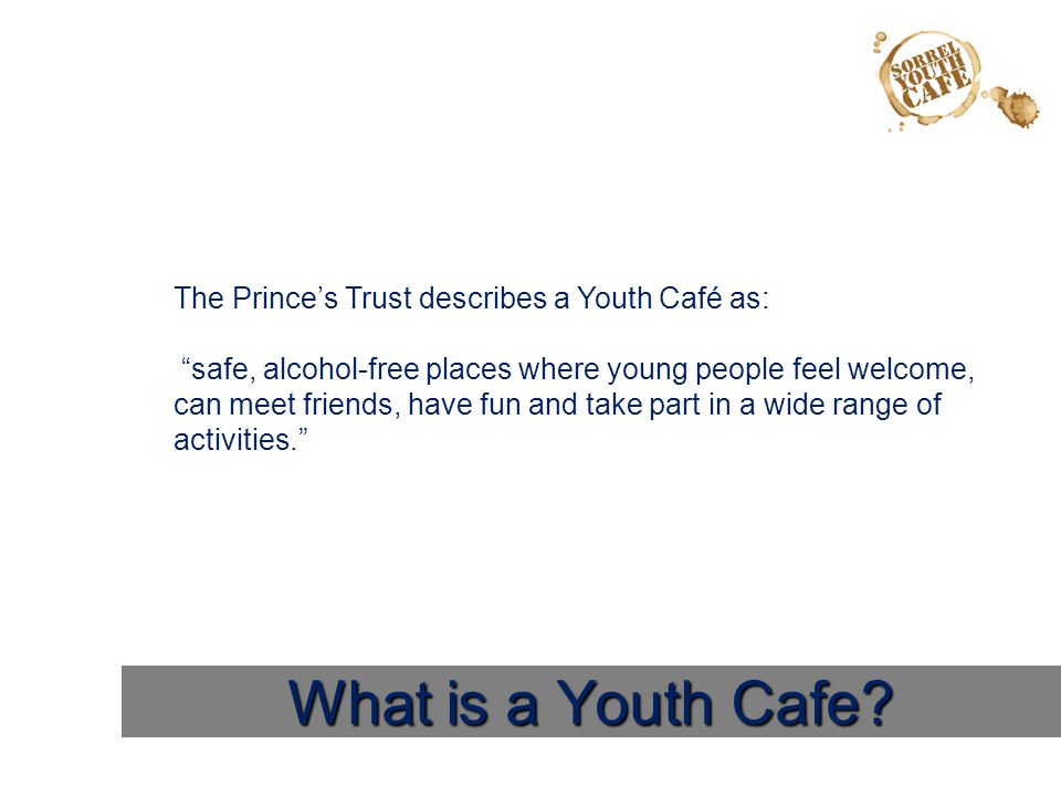 What is a Youth Cafe.