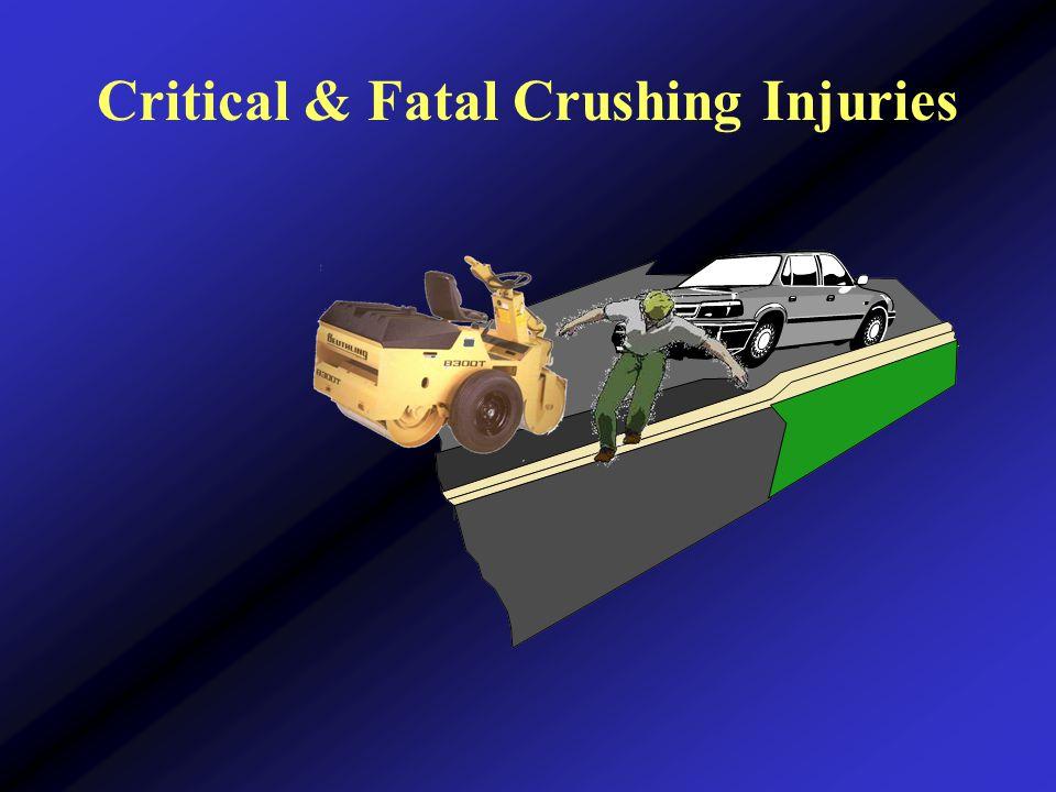 Critical & Fatal Crushing Injuries