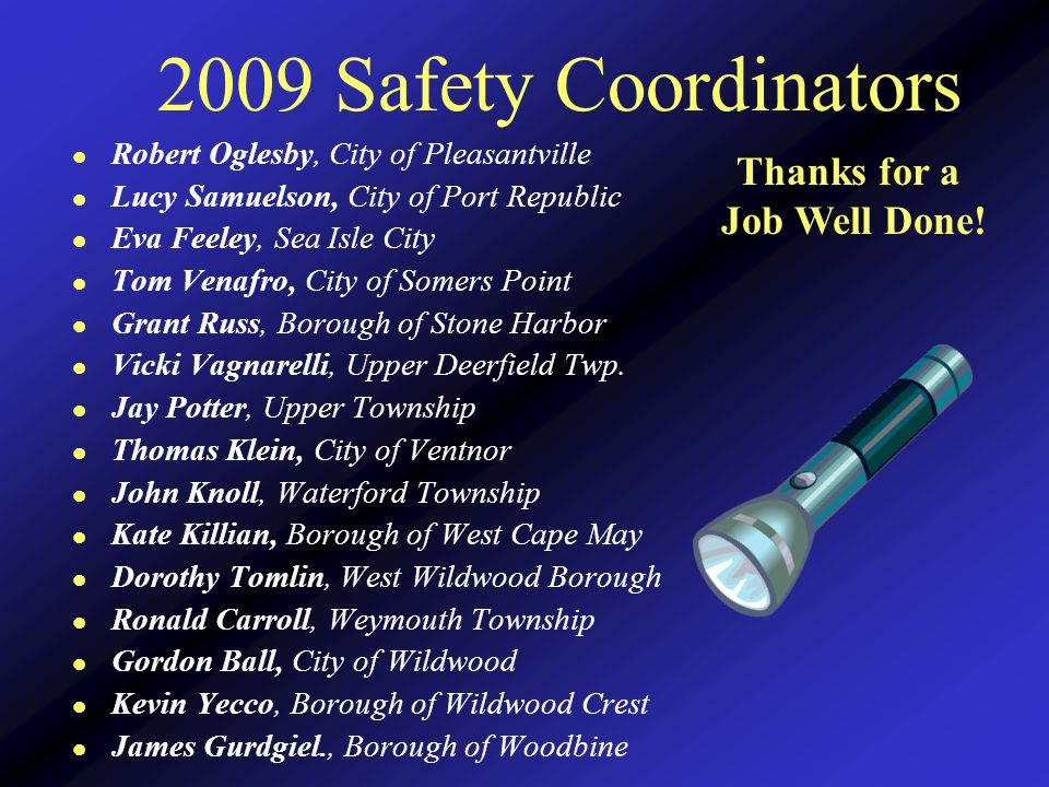 2008 SIP Qualifiers Absecon Deerfield Twp Newfield Hammonton Members will receive notification of their awards by mail