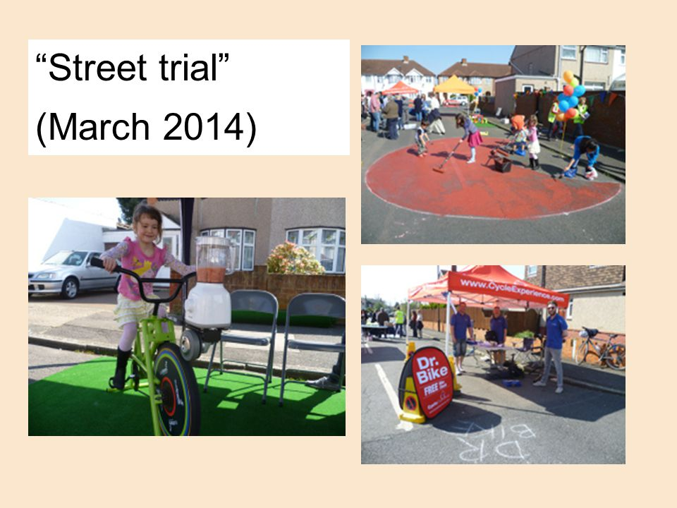 Street trial (March 2014)