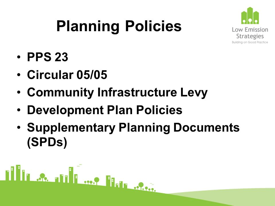planning obligations (continued): To report on the implementation of the Low Emission Zone measures and targets on store opening and at five and ten years afterwards £16,000 per annum for ten years towards Council's Environmental Monitoring 10% renewable energy commitment BREEAM excellent rating CHP plant including community heating