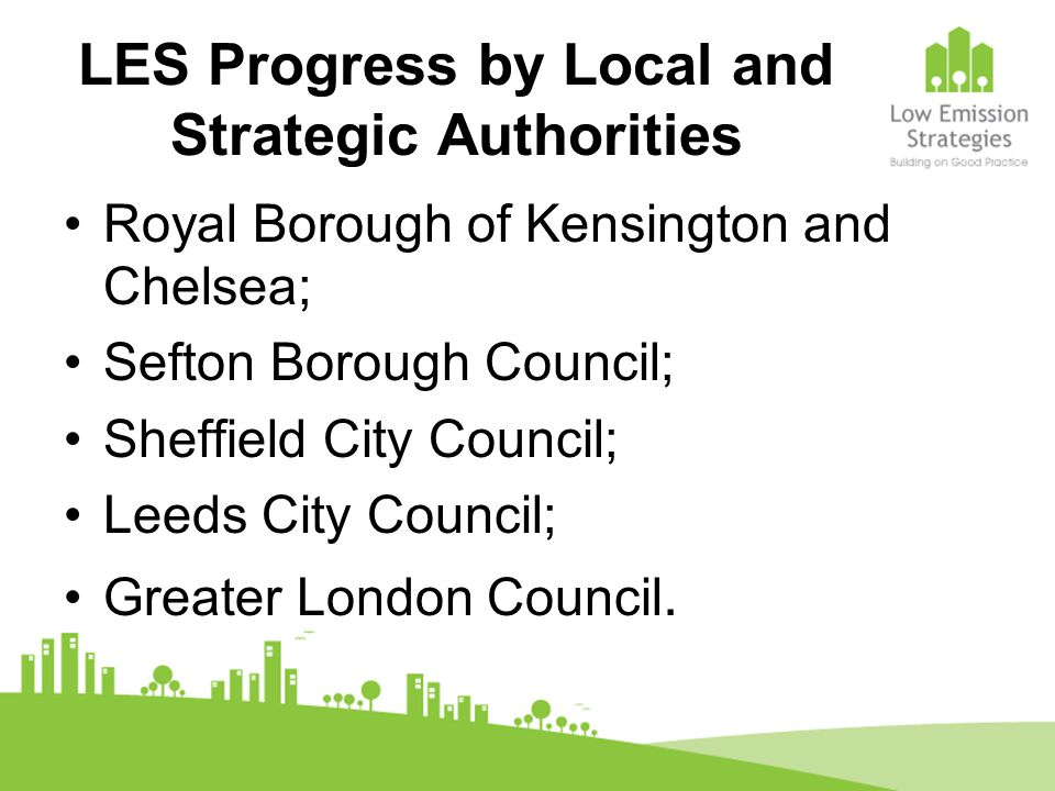 Low Emission Zones Greenwich has secured other LEZs through its work on Section 106 agreements.