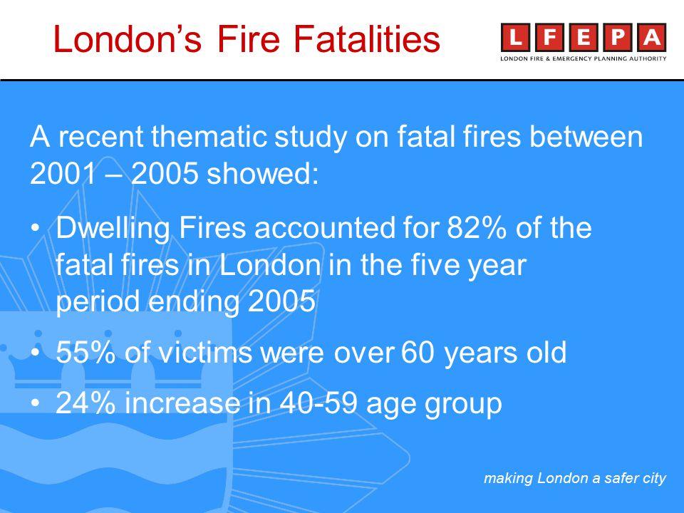 making London a safer city Community Fire Safety Officers