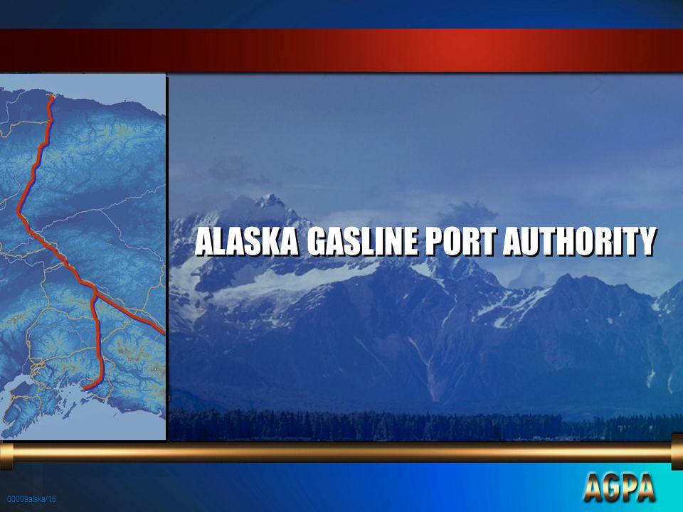 00009alska/16 ALASKA GASLINE PORT AUTHORITY