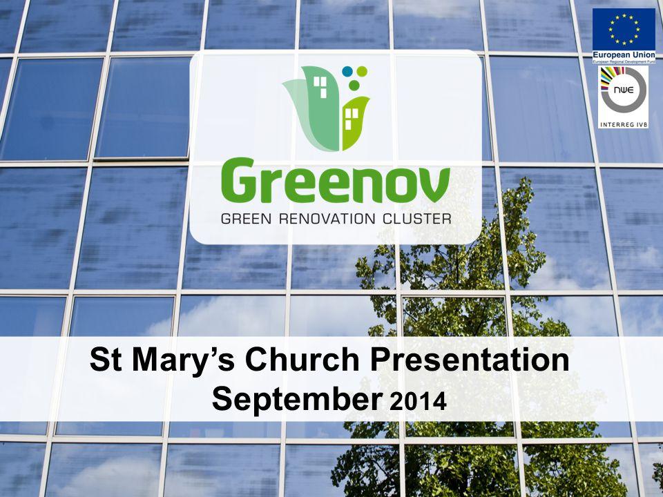 Cliquez pour modifier le style du titre St Mary's Church Presentation September 2014