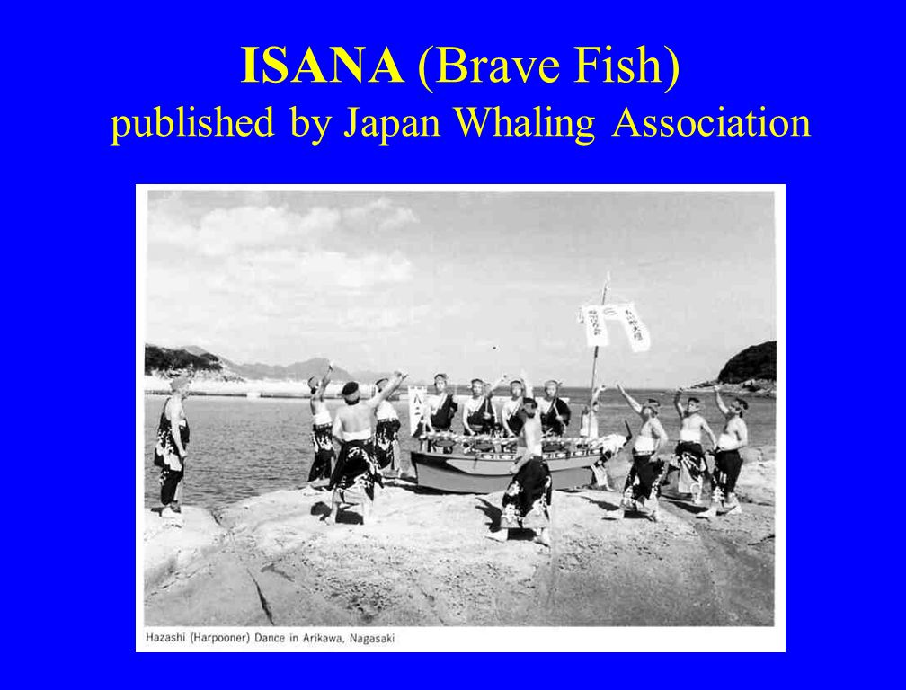 ISANA (Brave Fish) published by Japan Whaling Association