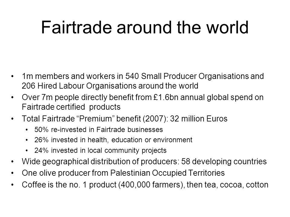 Fairtrade around the world