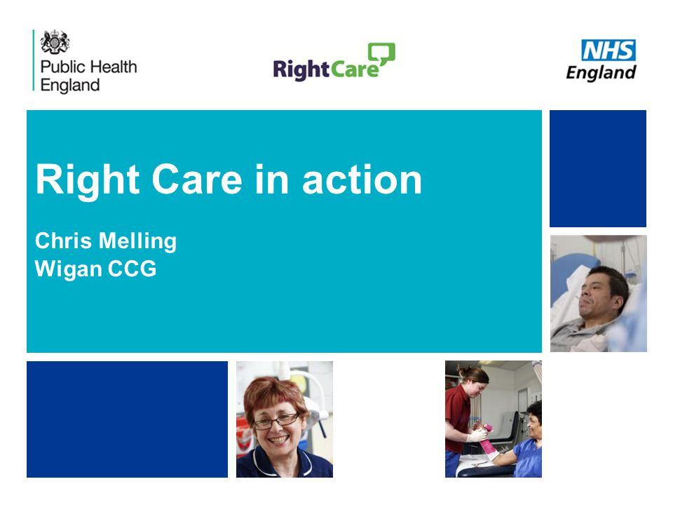 NHS | Presentation to [XXXX Company] | [Type Date]1 Right Care in action Chris Melling Wigan CCG
