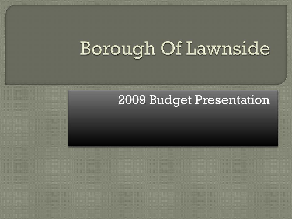 2009 Budget Presentation