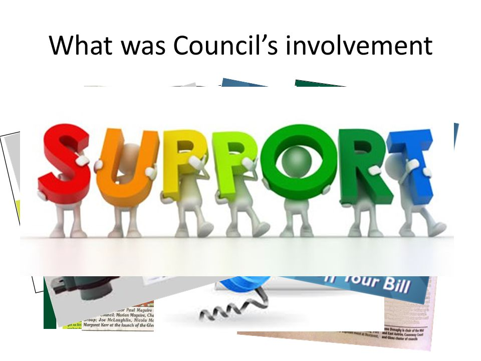 What was Council's involvement