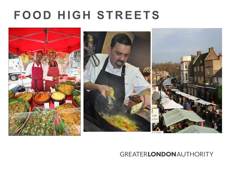 FOOD HIGH STREETS