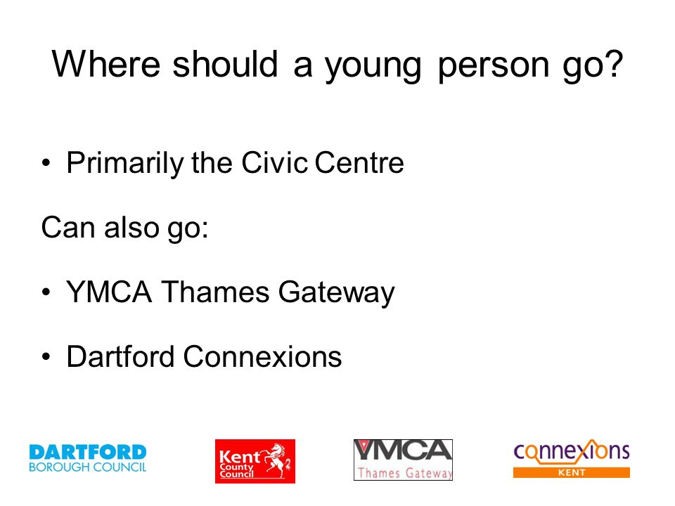 Where should a young person go.