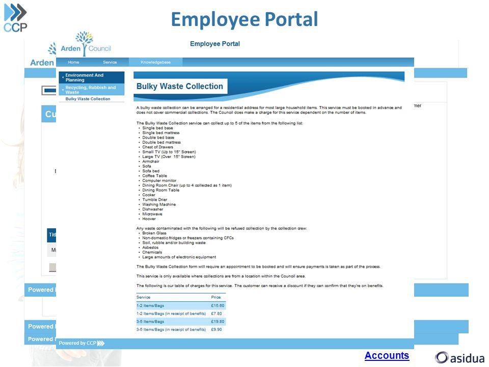 Employee Portal Accounts