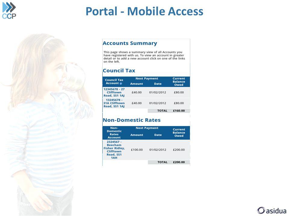 Portal - Mobile Access