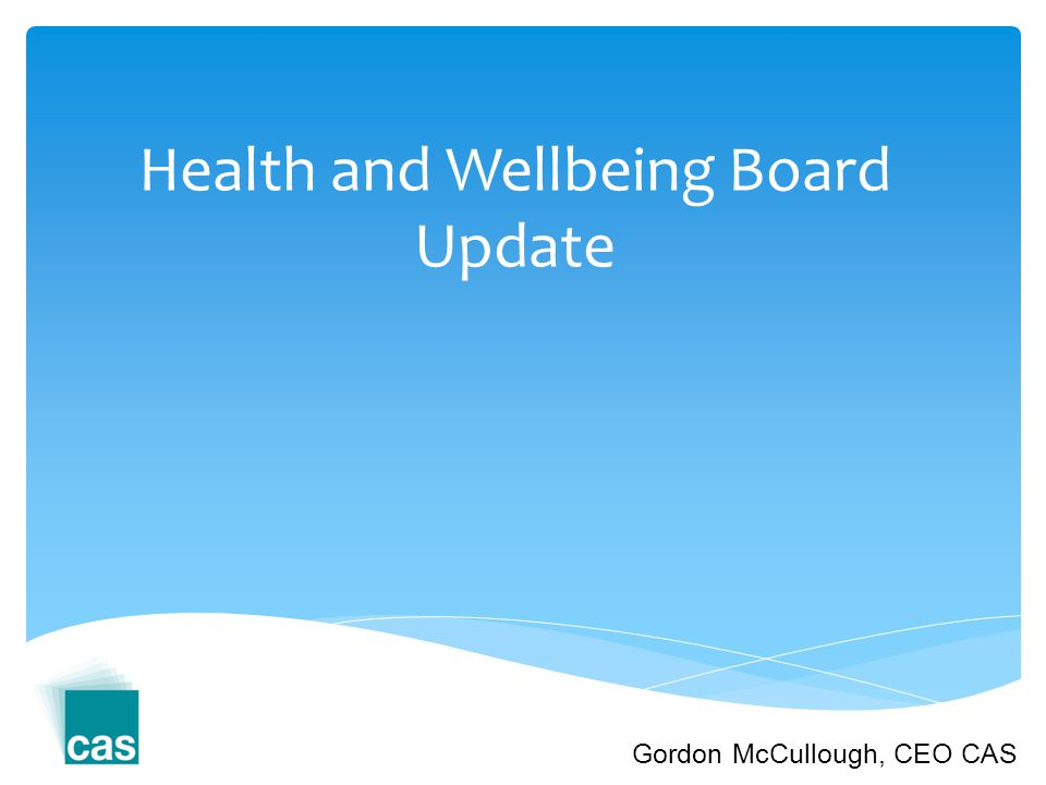 What is the aim of Health and Wellbeing Board.