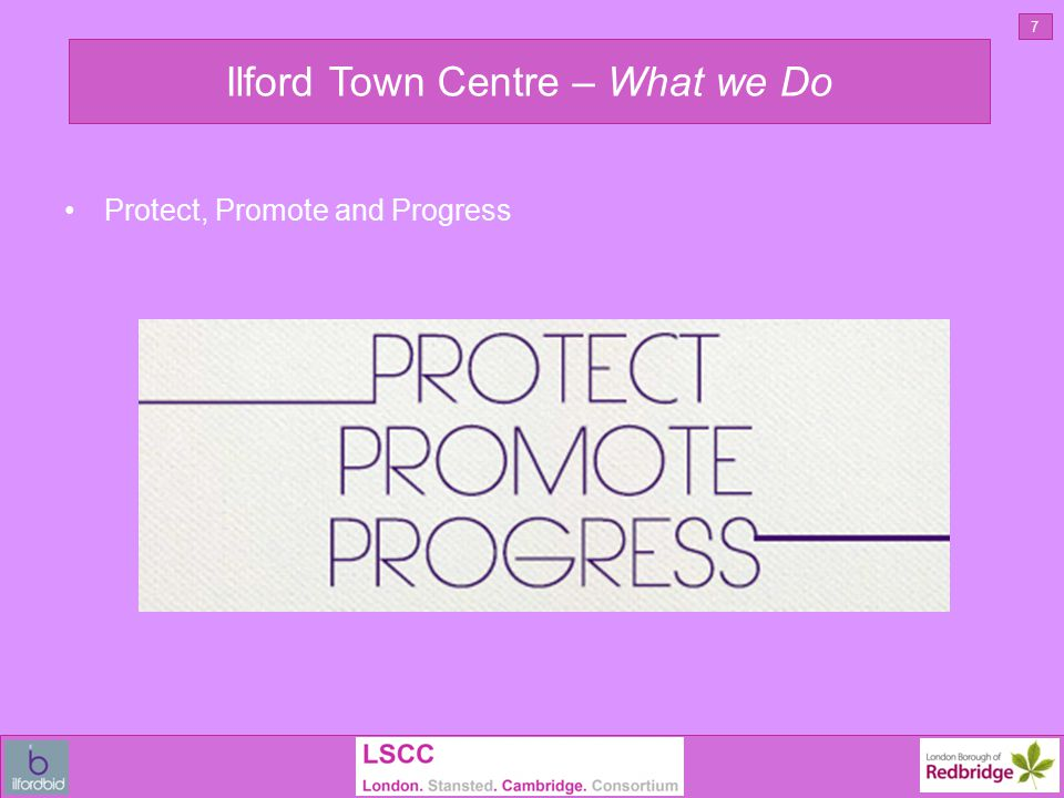 Ilford Town Centre – Protect 8 Security Planting Ambassadors Cleaning Investment Festive